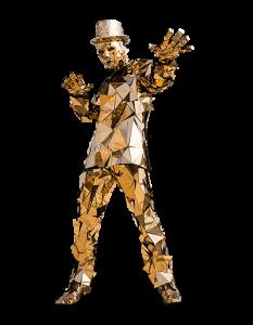 gold-mirror-man